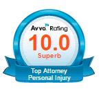 AVVO 10.0 Personal Injury